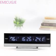 Electronic Alarm Time Desk Flip Table Cl