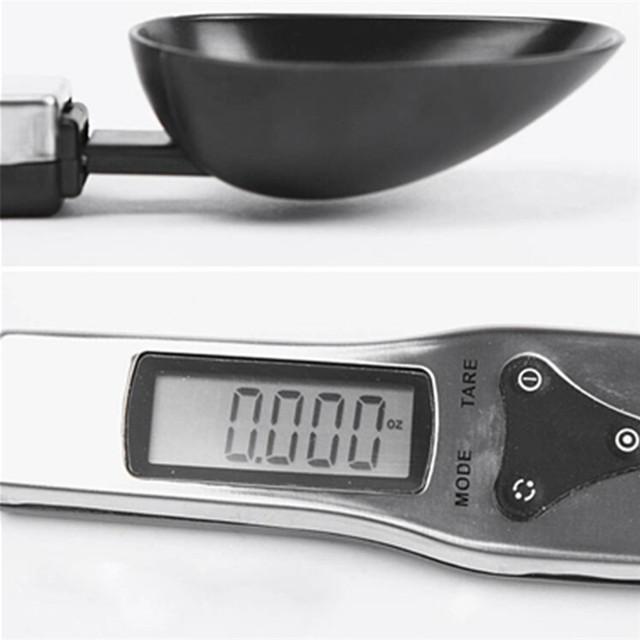 Báscula de Cocina Digital Portátil de 300g/0,1g