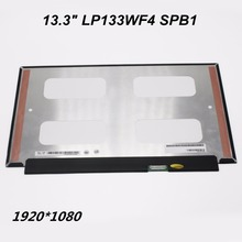 "(1920*1080)13.3"" LCD Monitor LP133WF4 SPB1 LQ133M1JW15 Matrix Laptop LCD Screen Touch Digitizer For Ideapad 710s Free Shipping(China (Mainland))"