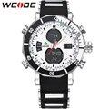 Вайде мужчины спортивные часы мужские кварцевые цифровые часы Relogio Masculino сигнализации мода из светодиодов дисплей водонепроницаемый военные наручные часы