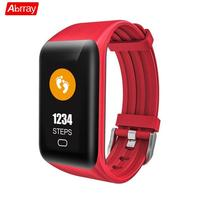Abrray Smart Sport Watch For Men LED Fitness Watches Pedometer Multifunctional Wristwatch Digital Step Tracker Message Reminder