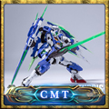 Fanmade Metal Saga Build oo 00 Quant Gundam Model Kit 1/100 Turris Babel
