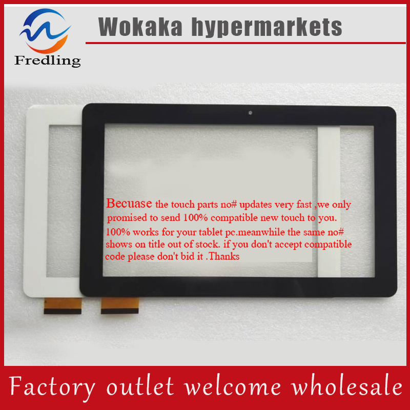 New 10.1 inch Tablet PC touch screen panel Digitizer Sensor replacement for iGet SMART S100 Tablet Free Shipping black color touch panel for 7 inch tablet pc mglctp 701271 touch screen panel digitizer sensor