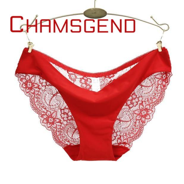 2ece12aa6 Sexy lingerie Sem Costura calcinha mulher fantasia rendas virilha de  algodão calcinha de renda calcinha traceless