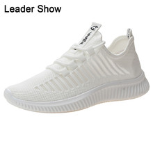 Women Sneakers Outdoor Breathable Air Mesh Woman Athletic Shoes Lace-Up Summer