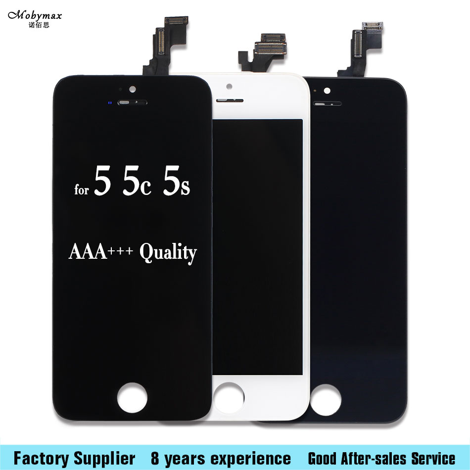 Mobile Phone LCD Display with Touch Screen Digitizer Assembly No Dead Pixel For iPhone 5 5c 5S 4 4S LCD aaa+++Quality