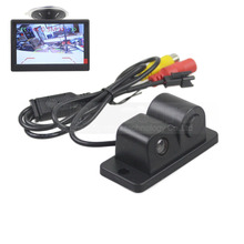 DIYKIT Waterproof Packing Radar Sensor Car Reverse Rear View Car Camera Wide Angle for Parking Assistance Kit 2 in 1
