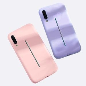 Image 3 - Cassa del telefono di silicone liquido per vivo v15 pro iqoo x23 del silicone sottile di gomma cassa del telefono di protezione per Y93 X9s V15 x21 x27 23