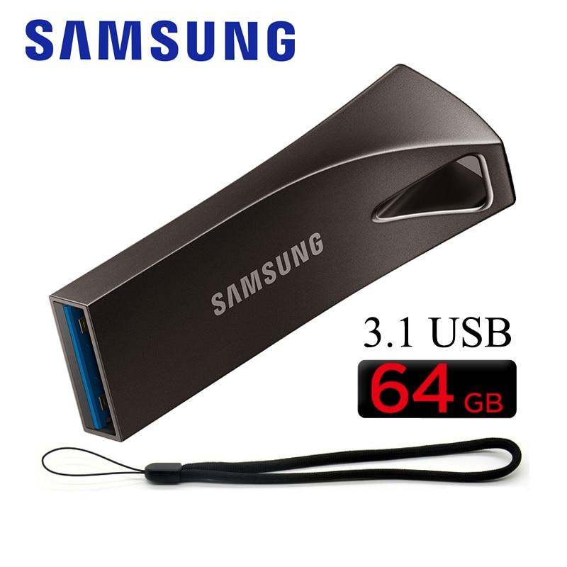 SAMSUNG USB Flash Drive 256 gb GB 32 64GB 128GB 300 mb/s StickDevice drrve 3.1 Pendrive usb de Memória Flash usb Pen drive de Disco U