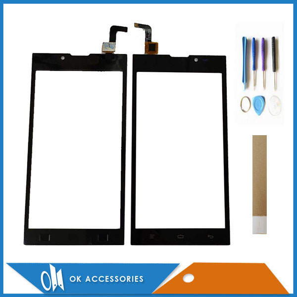 For Micromax Bolt D333 Touch Screen Digitizer Panel Replacement Front Glass Touchscreen With Tools Tape