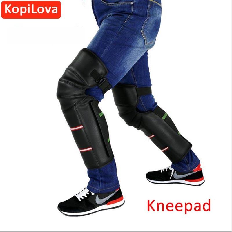KopiLova High Quality Winter Outdoor Cold-proof Kneepads Keep Warm Motorcycle Kneepad Sport Tactical Protection Kneepads
