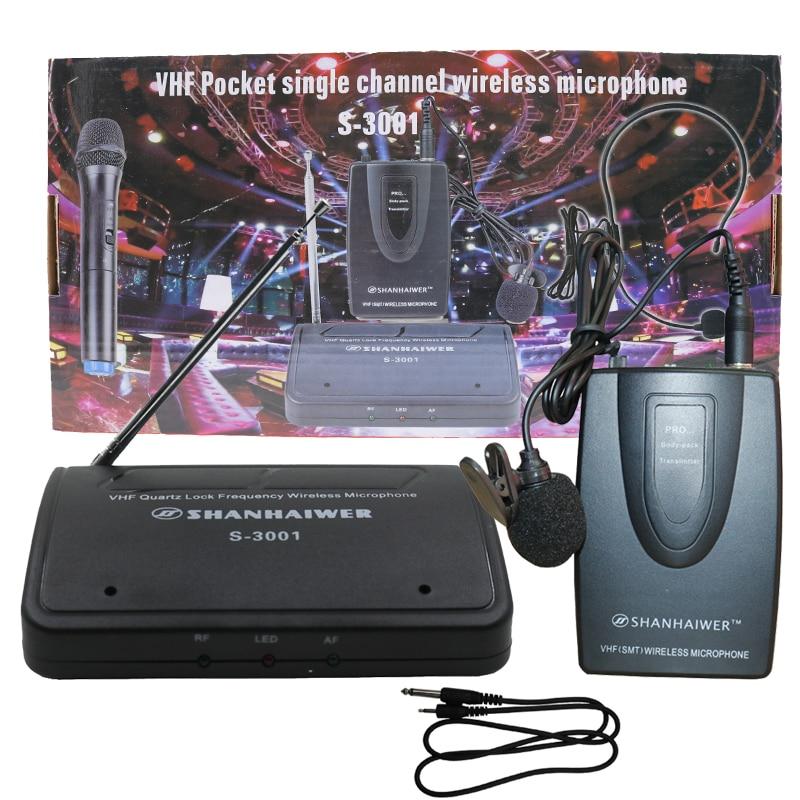 SHANHAIWER S-3001 қосқышы немесе микрофонның - Портативті аудио және бейне - фото 6