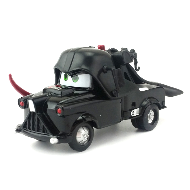 Disney Pixar Cars Lighting McQueen Black Samurai Mater Diecast Metal Toy Model Car Jacks ...
