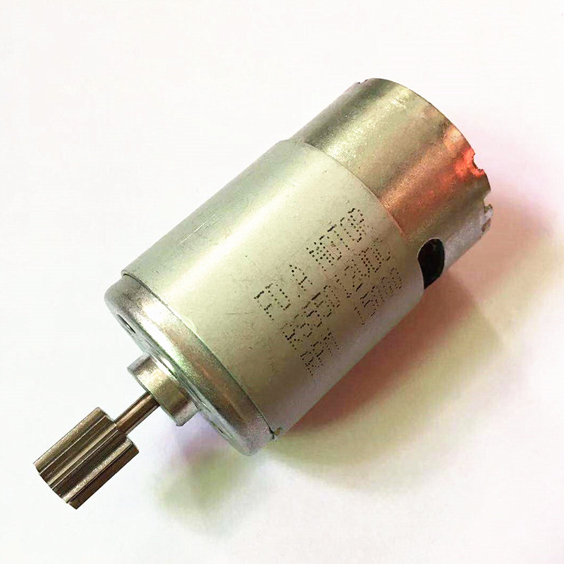 <font><b>550</b></font> <font><b>12V</b></font> 6V DC <font><b>Motor</b></font> for Children Electric Car, Kids Ride On Car Electric <font><b>Motor</b></font> RS550 Gear Box Engine image