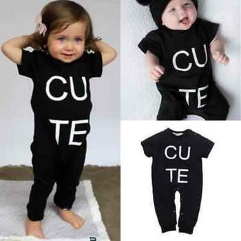 Cute Newborn Baby Boys Girls Warm Bodysuit Romper Jumpsuit Outfits Clothes 0-36M