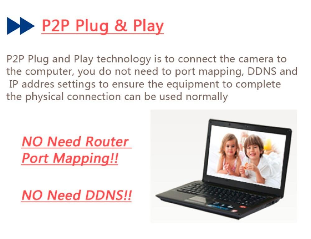 ESCAM Snail QD500 Waterproof Dome IP Camera CCTV 14 Inch 1MP CMOS 720P (9)