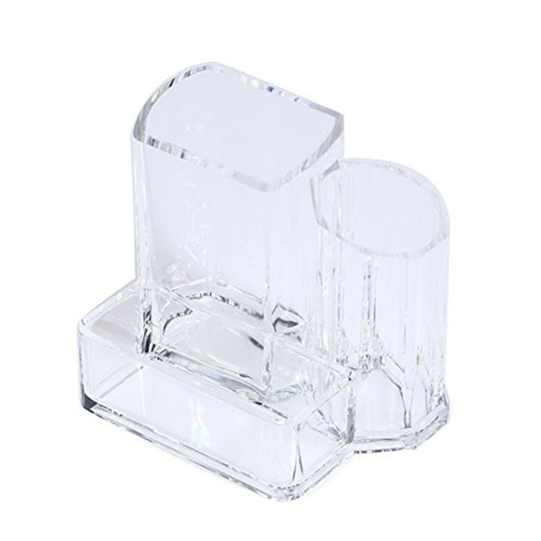 Clear Acrylic Brush Lipstick Holder Makeup Organizer Cosmetic Makeup Tools Storage Box Case