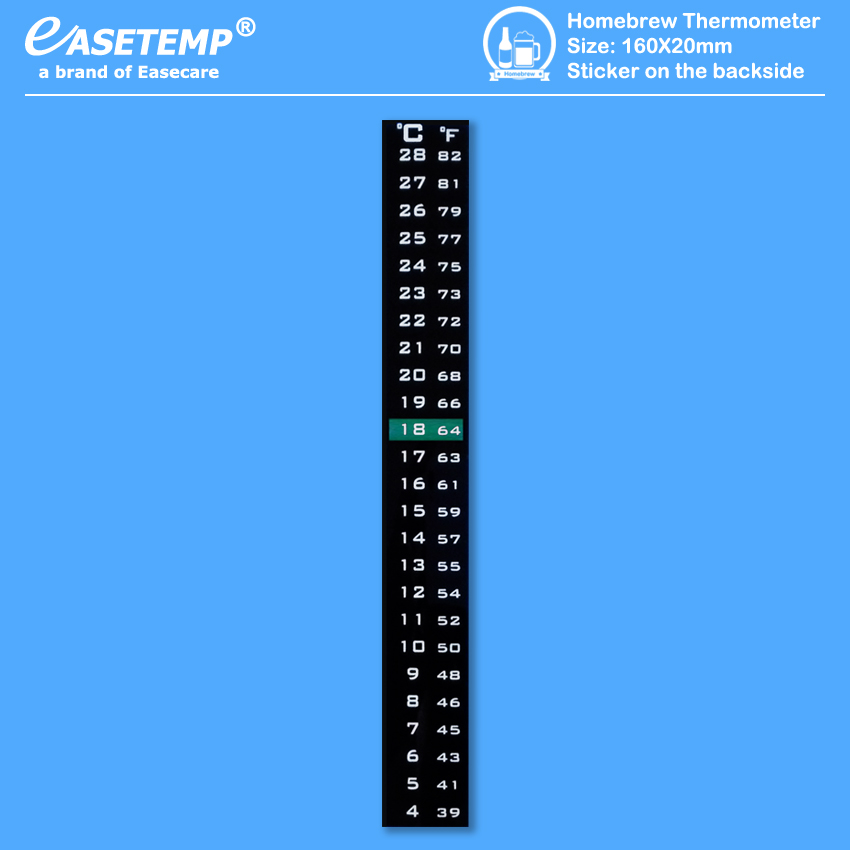 Homebrew_Thermometer(160X20mm_4-28C)(Easetemp)