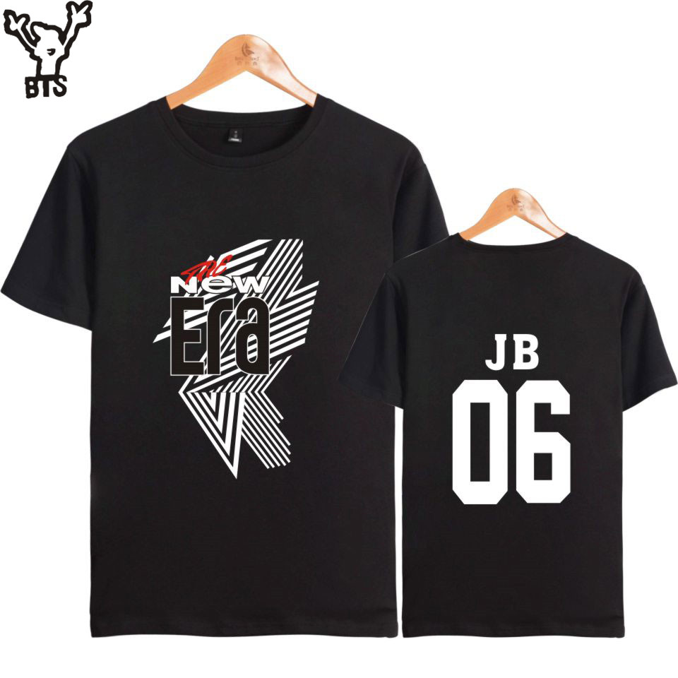 2018 Korean Kpop GOT7 JB 06 Summer Fashion T-shirt Men/Women Lovely The New Era Popular Tshirt Sexy Summer Funny Tshirt 4XLA8080