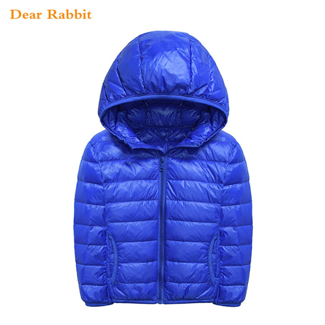 68d457e43 2018 NEW spring baby girls boy winter jacket coat children s Ultra ...