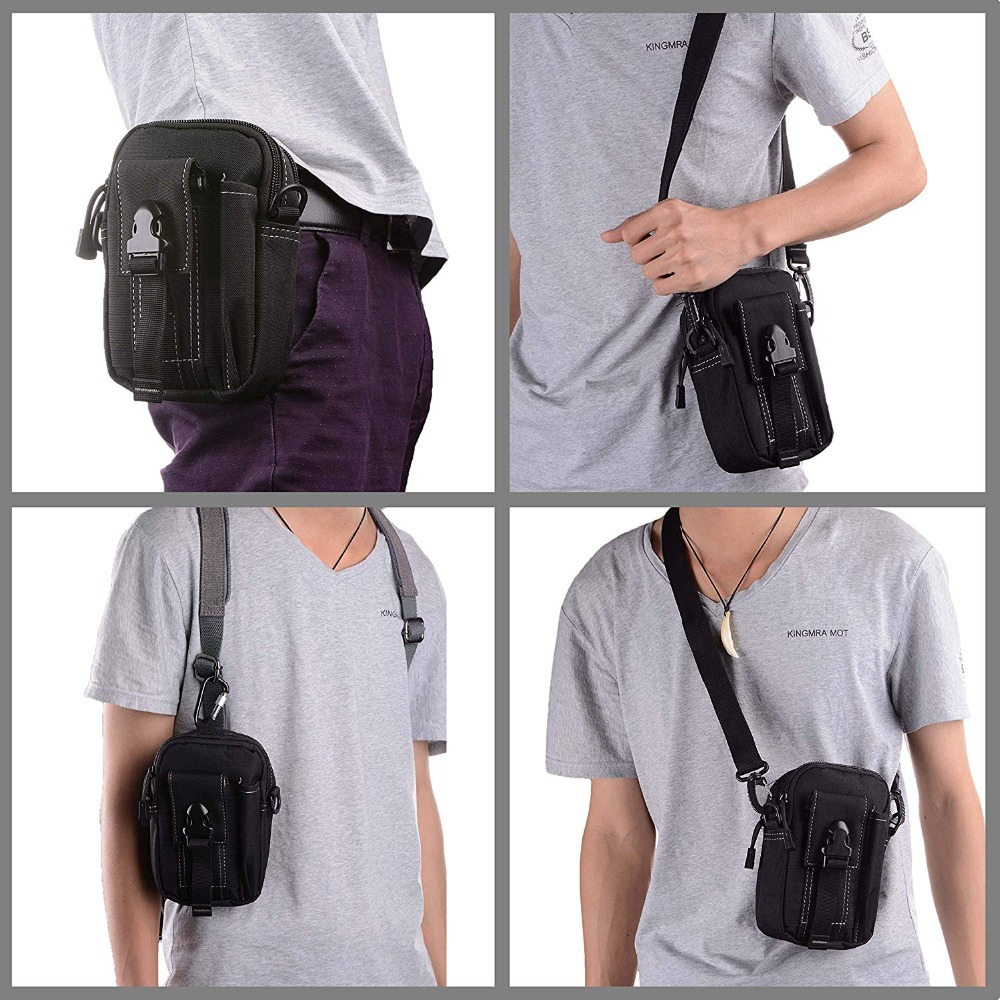 Multifunctional Camping Waist Pack Climbing Emergency Molle Survival Kits Outdoor Tactical Bag Wallet Pouch Outdoor Sport Pack (8)