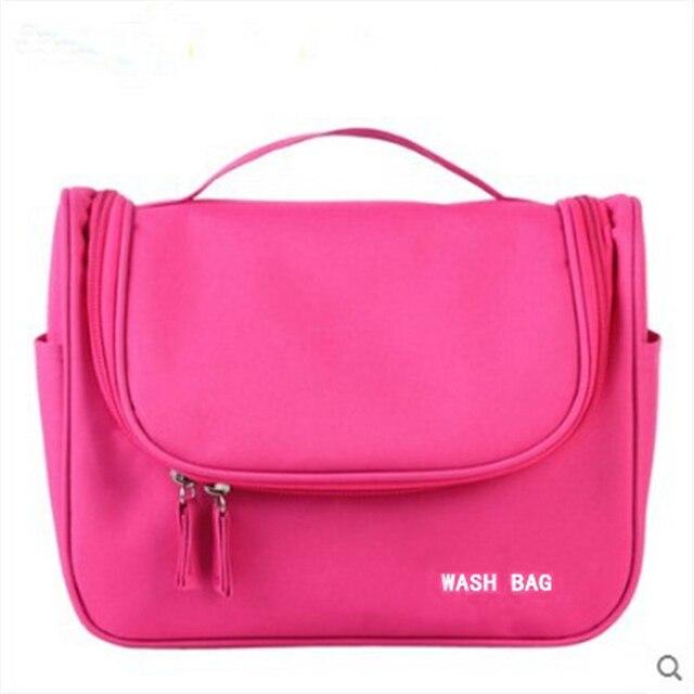 High quality portable storage bag waterproof makeup washing bag portable large capacity home supplies