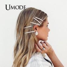 UMODE Pearl Hair Clip Pin for Girls Wedding Vintage Antique Bridal Headpiece Decoration Korea Fashion Accessories Women