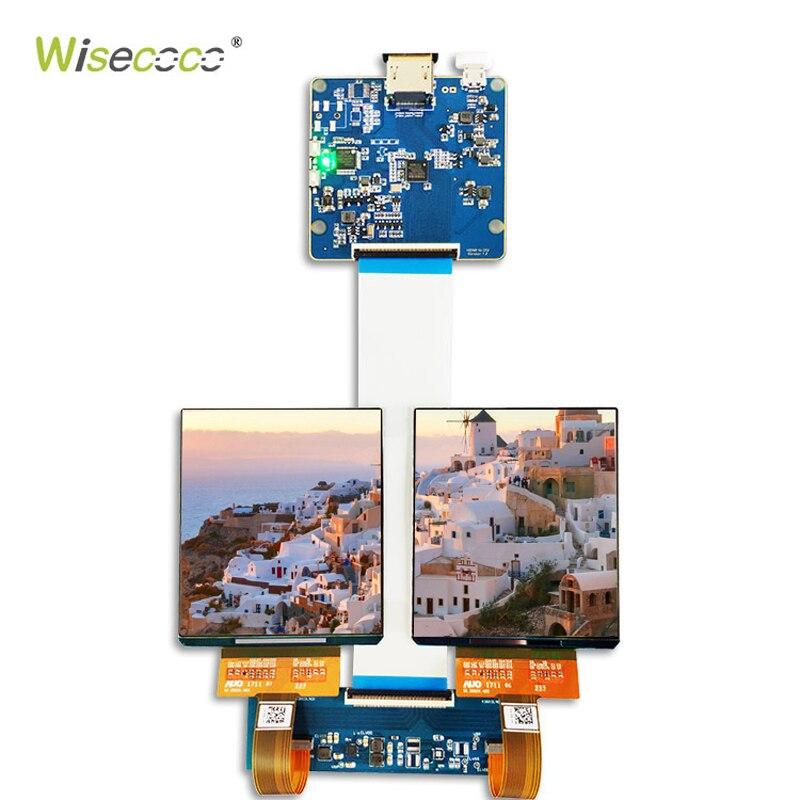 3.81 pouces IPS HCG OLED MODULE d'écran 1080 P 39 broches MIPI-affichage HDMI monté sur la tête