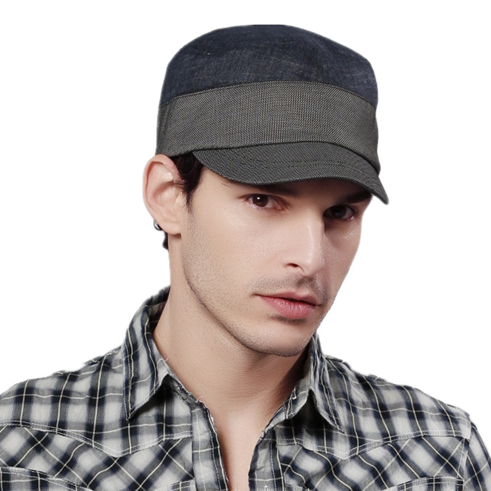 62a35881e1b Free Shipping Kenmont Spring Autumn Men Military Newsboy Army Caps Hats  High Quality Polyester Viscose Spandex Navy Coffee 0572-in Military Hats  from Men s ...