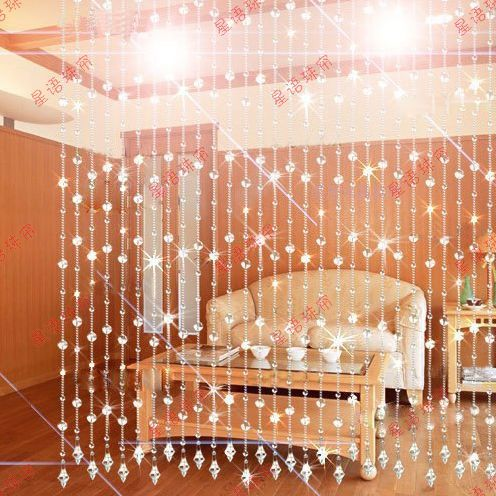 Rideau de perles de cristal perles de rideau pour la partition porte ...