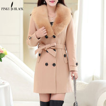 Woolen woolen outerwear women slim medium-long 2013 autumn and winter wool coat