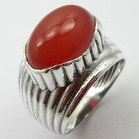 Natural Carnelian Ring Size 5.75 Silver Women's Jewelry Unique Designed