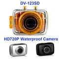 Winait barato crianças brinquedo câmera digital à prova d' água com caso frete grátis