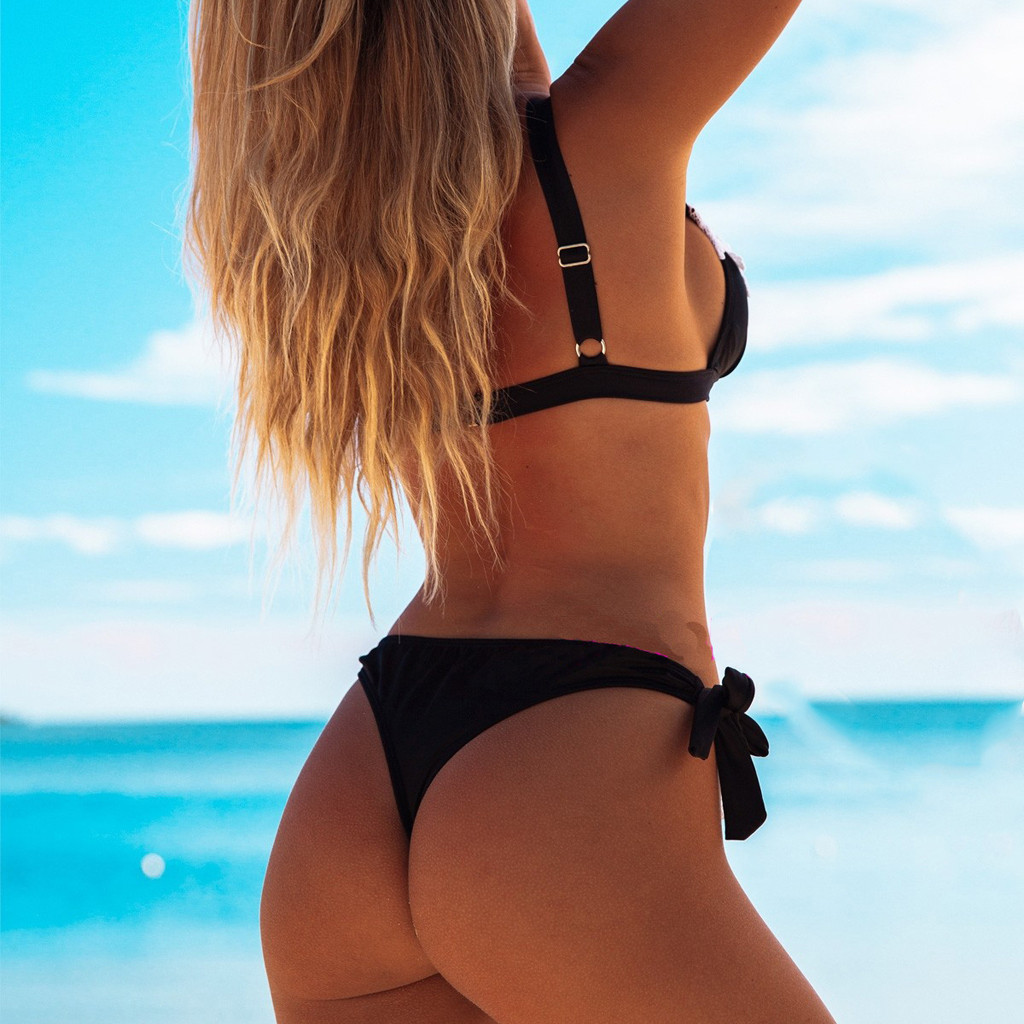 HTB1N50LaynrK1Rjy1Xcq6yeDVXaU Sexy Bikini Swimsuit Women's Swimming Suit 2019 Women Swimwear Sexy Lace Bikini Liner Bra Bathing Suit Bathing Suit Beach