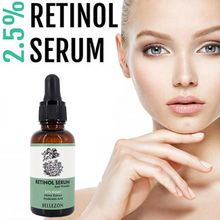 Retinol Anti Aging Skin Serum Vatimin E Hyaluronic Acid Facial Wrinkle Moisturizer 30ML