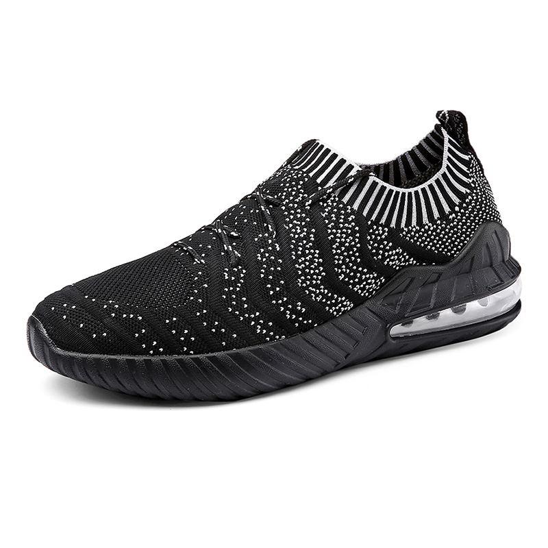 b21ae7f4 2019 LAISUMK Новая мода сетки дышащая весна/осень повседневная обувь для  мужчин кружево Удобные Спортивная - b.blogwp.me