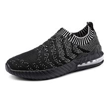 2019 LAISUMK New Fashion Mesh Breathable Spring/Autumn Casual Shoes For Men Laces Comfortable Sneakers