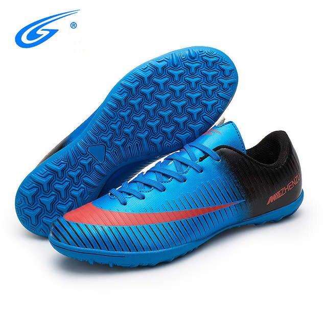 ZHENZU chuteira futebol futsal shoes chuteiras futbol superfly botas  infantis meninos baratos sapatos tênis voetbal da acadb75abf4d0