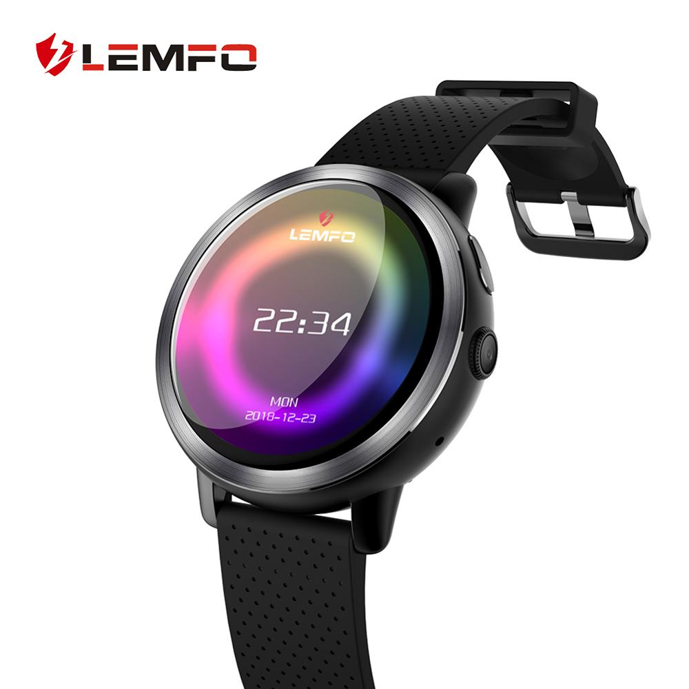 LEMFO LEM8 4G Smart Watch Phone Android 7 1 1 2GB 16GB Support GPS WiFi SIM