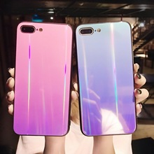 50PCS Glossy Holographic Iridescent Laser Phone Case For Vivo x9/x9s vivo x20 Plus Rainbow Shiny TPU Cases Back Cover Shells