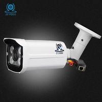 ZSVEDIO Surveillance Cameras POE CCTV Monitor Security Camera Alarm System Camera IP Security Camera System 1080p