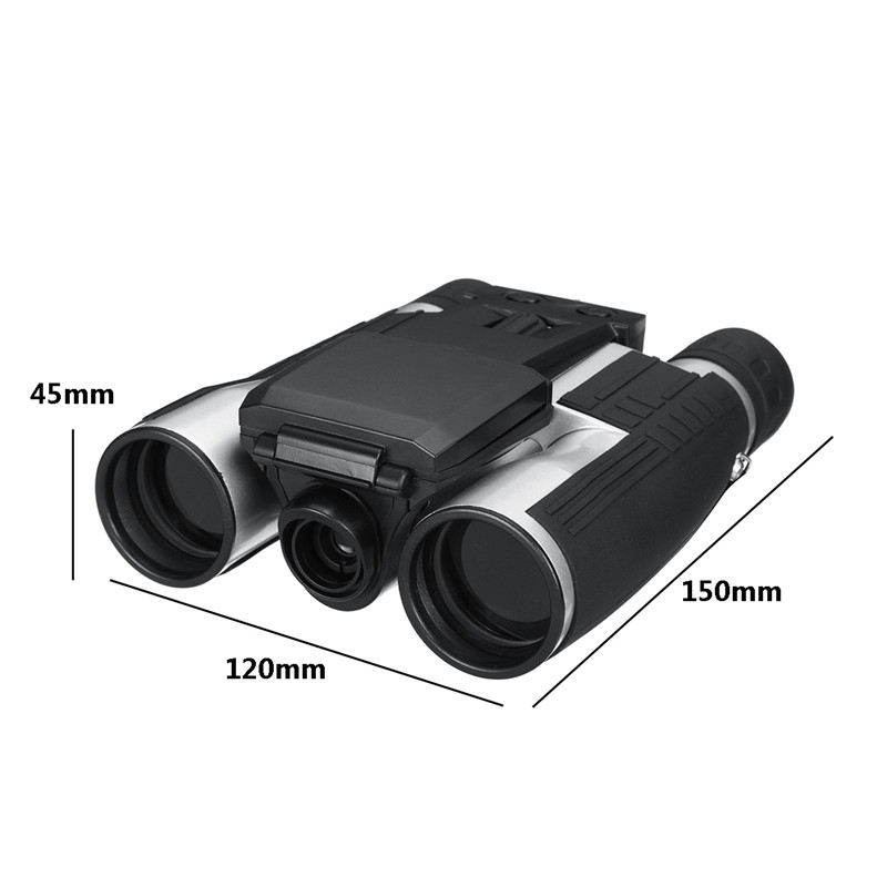 Suncore 1080p 5MP 12X HD LCD Screen Digital Camera Telescope Binoculars Video Camera COMS USB Sensor Outdoor Camera 1920X1080