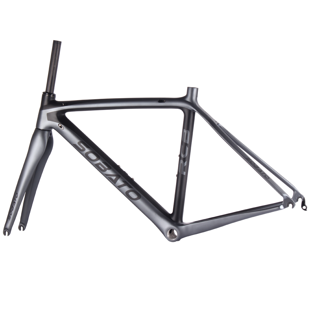 High quality UD carbon bike frame fork headset seat clamp .EN14781 road bicycle carbon frames цена и фото