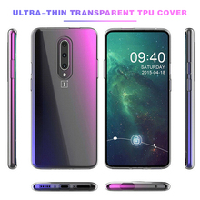 New Ultra Thin Soft Clear TPU Protective Back Case Cover For Oneplus 7 Pro Transparent Phone Case For Oneplus 7 7 pro Fundas [hk stock] soft case tpu transparent back cover for oneplus 3