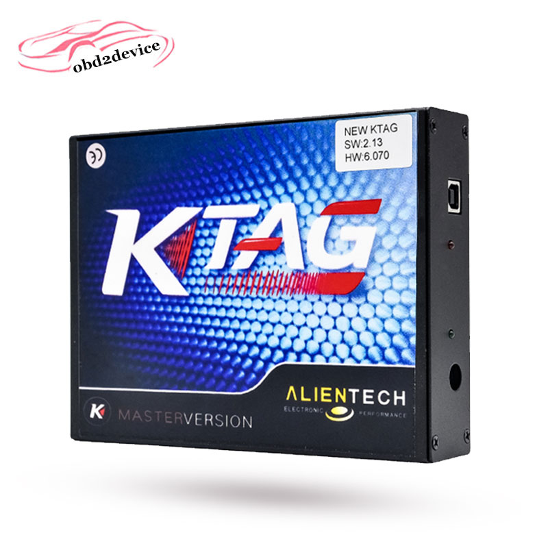 New Version V2.13 KTAG K-TAG Firmware V6.070 ECU Programming Tool with Unlimited Token scanner for car diagnosis unlimited tokens ktag k tag v7 020 kess real eu v2 v5 017 sw v2 23 master ecu chip tuning tool kess 5 017 red pcb online