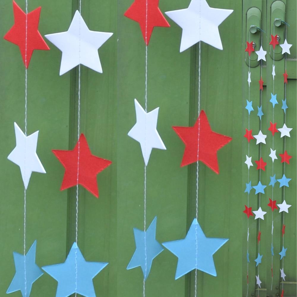2μ Αστέρι Γκέρλαντ Circle Χαρτί Garland Strings - Προϊόντα για τις διακοπές και τα κόμματα - Φωτογραφία 5