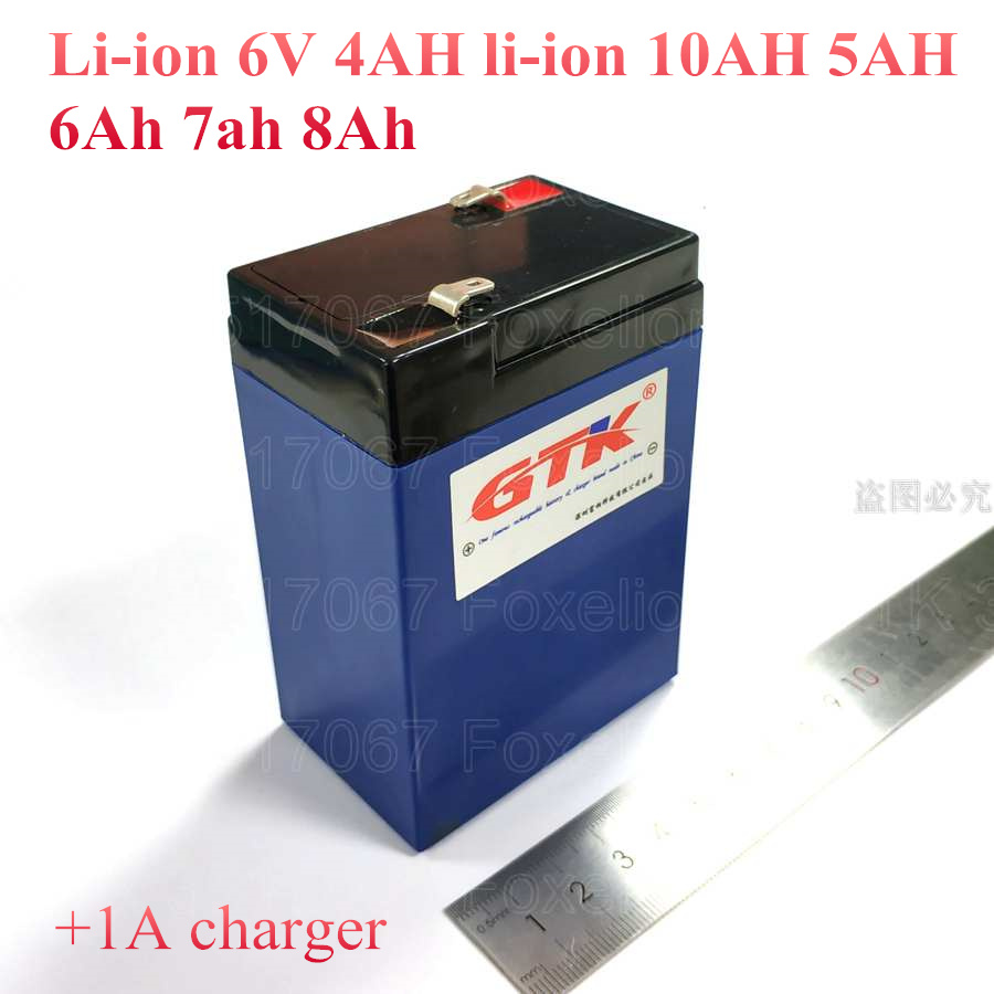 Lithium Ion Car Battery >> Us 29 0 High Quality Toy Car Battery Lithium 6v 4ah Li Ion 10ah 5ah 6ah 7ah 8ah Not Sealed Lead Acid Led Lights 3 Fm 4 Storage Ups Solar In