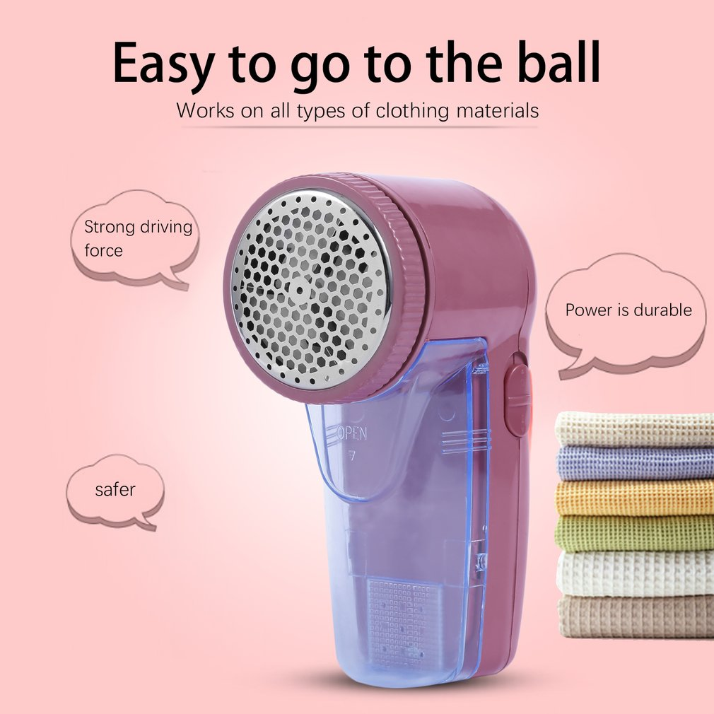 Hot Home Use Portable Clothing Pill Lint Remover Sweaters/Curtains/Carpets Clothing Machine Shaver Remove Pellets Two Batteries