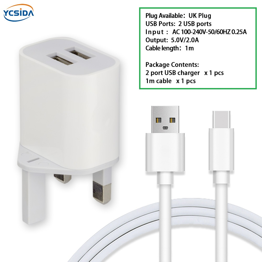 Cellphones & Telecommunications 3-port Usb Uk Plug Portable Charger Universal Phone Tablet Pc Charging Head Travel Charger Adapter White High Quality J25