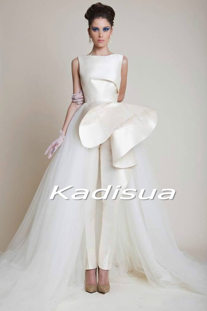 New Evening Dress Kadisua Party Peplum 2017 Ruffles Tulle Formal ...